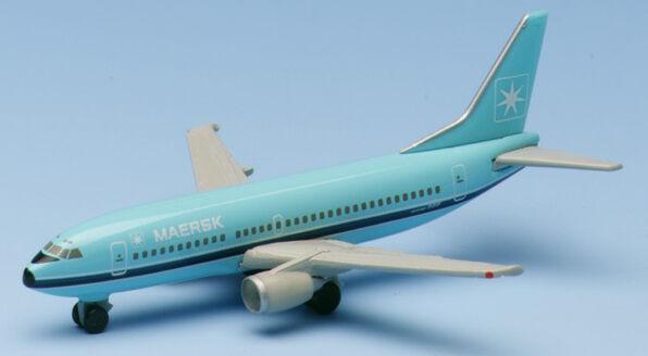 Herpa Wings 1 500 Maersk Boeing 737-300 prod id 500500 released 1997