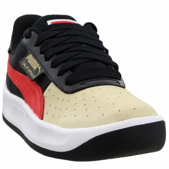 Puma California Sneakers Casual    - Black - Mens