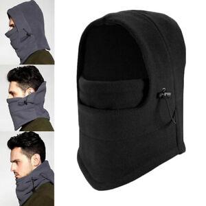 Mujer-Hombre-Invierno-Mascara-Facial-Calentador-De-Cuello-Bufanda-De-Lana-Esqui-Ciclismo-Senderismo