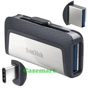 Sandisk-Ultra-Type-C-256GB-128GB-64GB-32GB-USB-3-1-Flash-Dual-Drive-SDDDC2-Lot