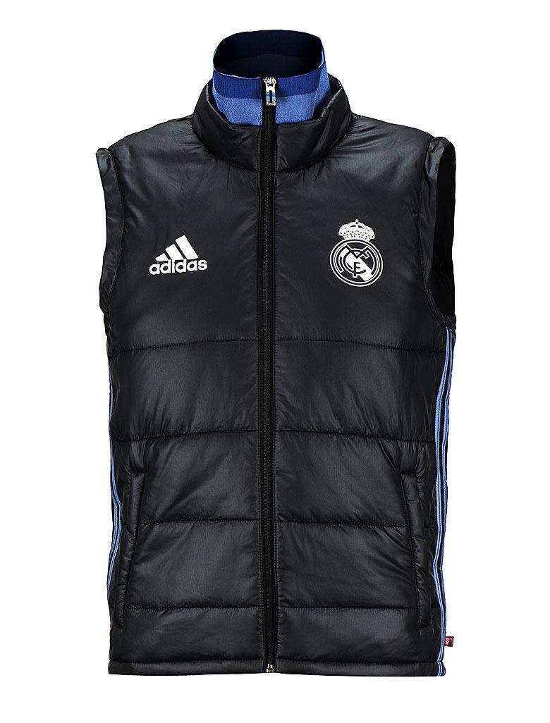 Adidas Real Madrid Acolchado Chaleco Chaqueta Parka Invierno AO3088 fútbol desgaste