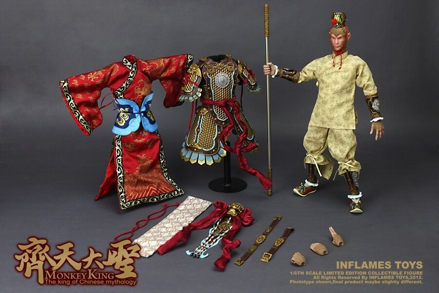 Inflames Toys 1 1 1 6 Journey to the West Monkey King IFT-003 fb2864
