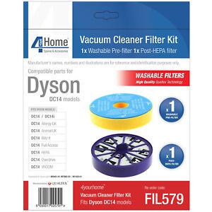 CALIDAD-PREMIUM-Repuesto-Filtro-Aspiradora-Kit-para-Dyson-Dc14-acceso-total