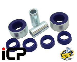 Superpro-Uprated-Bottom-Arm-Rear-Bushes-Fits-Subaru-Impreza-Hatch-07-10-WRX-STi
