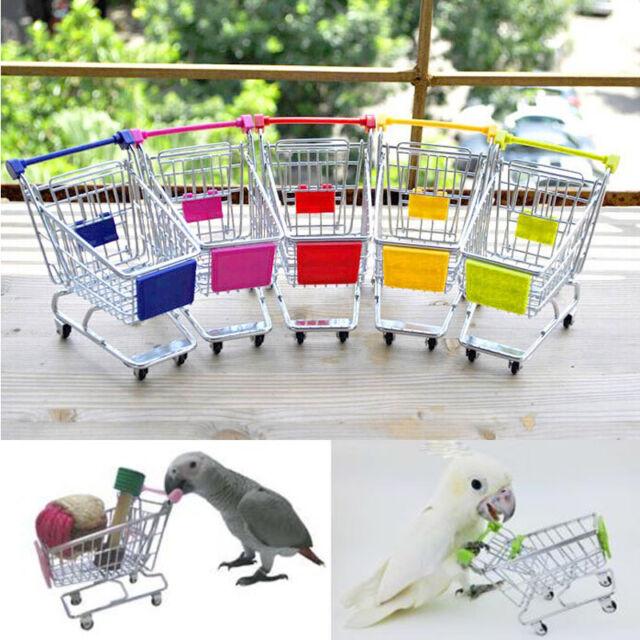 Parrot Bird Toy Supermarket Shopping Cart Intelligence Growth Growth Training