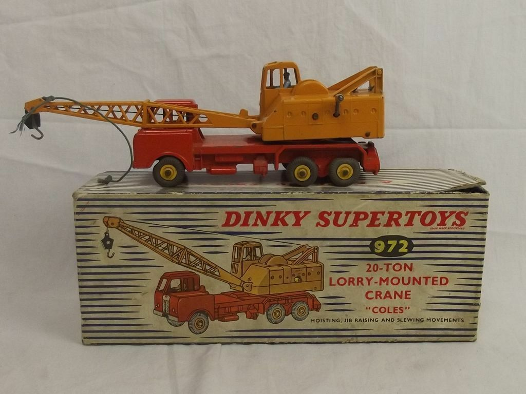 Boxed Dinky Supertoys 972 20 Ton Lorry Mounted Coles Crane