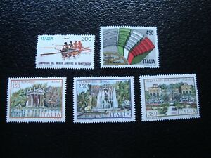 Italy-Stamps-Yvert-Tellier-N-1540-1543-A-1546-N-MNH-A48