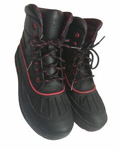 Nike-ACG-Woodside-Black-Fireberry-Pink-Duck-Boots-524876-001-Size-7y-38EU