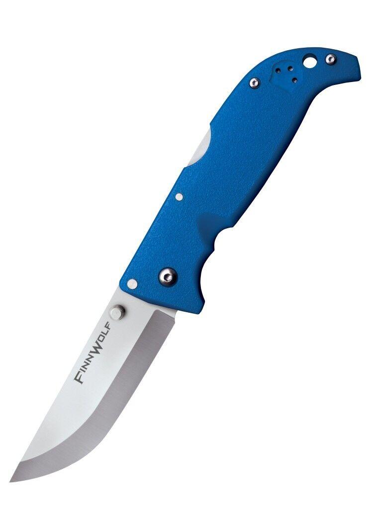 Cold Steel Steel Steel Coltellino Finn Wolf 20cm Coltello pieghevole Arancione Rosso Blu verde Oliva 4fbb1c