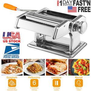 Stainless-Steel-Fresh-Pasta-Maker-Roller-Machine-for-Spaghetti-Noodle-Fettuccine