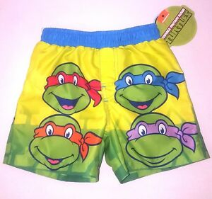c33a734772 Image is loading Teenage-Mutant-Ninja-Turtles-Nicklodeon-Toddler-Boys-Swim-