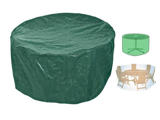 Impermeable mesa y silla redondo muebles de Jardín funda Green Blade ...