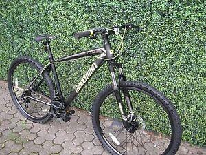 Matt Black 21 Speed Mtb Mountain Bike Bicycle 26 Wheel 16 5