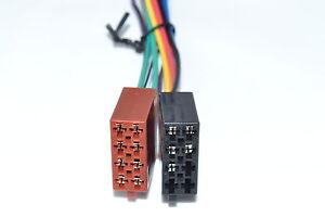 Autoradio-ISO-Kabel-Stecker-13-Pin-Strom-Lautsprecher-Radioadapter-DIN