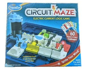 ThinkFun Circuit Maze Electric Current Logic Game Electrical Circuitry Games