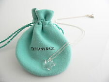 Tiffany & Co Silver Peretti Rock Crystal Star Necklace Pendant Rare Excellent!