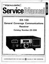 CDROM Realistic Pro-2035 Service Manual PDF