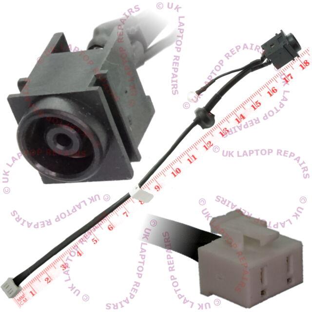 DC POWER JACK SOCKET W// CABLE for SONY VAIO PCG-3B2L PCG-3B4L PCG-3J1L PCG-3D3L