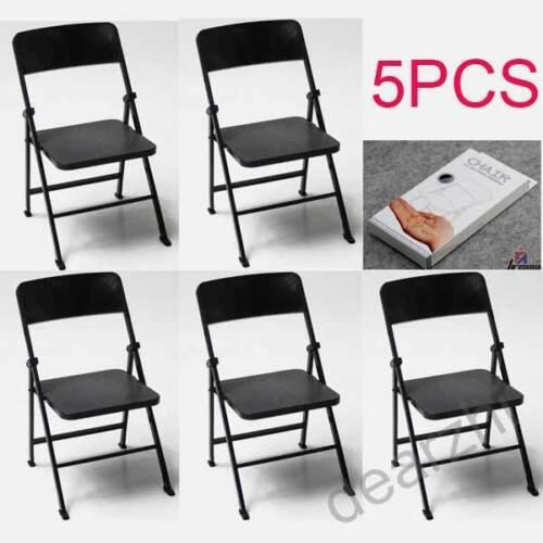 5PCS 1//6 scale PVC folding Chair for hot toys enterbay dragon joe gi did blythe