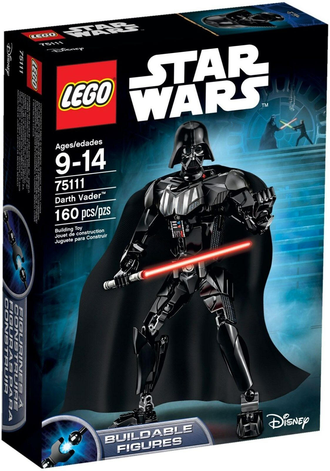 LEGO 75111 - Buildable Figures Star Wars  - DARTH VADER - New & Sealed