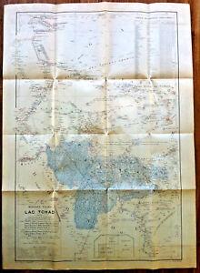 Carte Afrique Lac Tchad.Cartes Plans Guides Carte Lac Tchad Afrique Mission Tilho