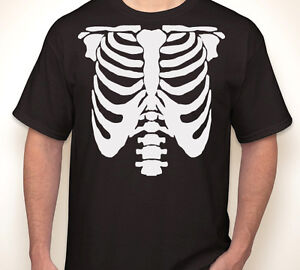 e948705b Image is loading SKELETON-RIBS-Halloween-rib-cage-costume-party-scary-