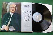 Helmut Walcha Plays Bach St. Jakobi Lubeck Small Organ 004 492 LP