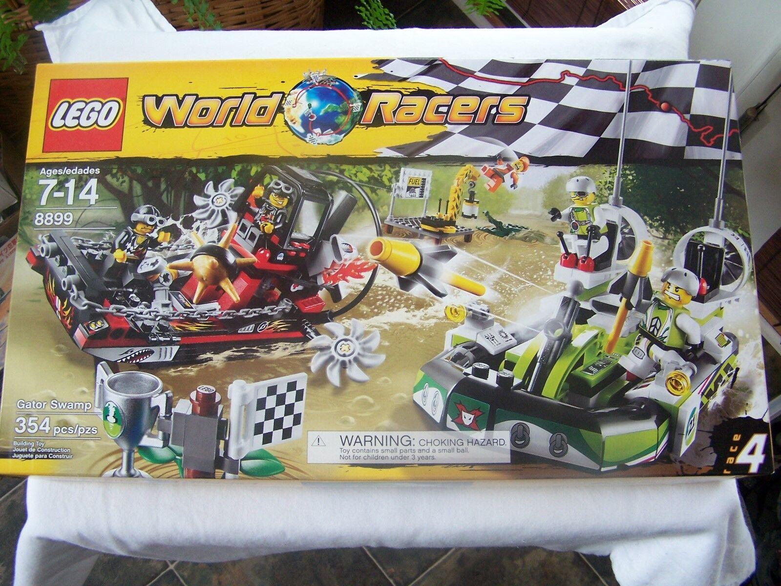 Lego 8899 Gator Swamp World Racers MISB New Sealed