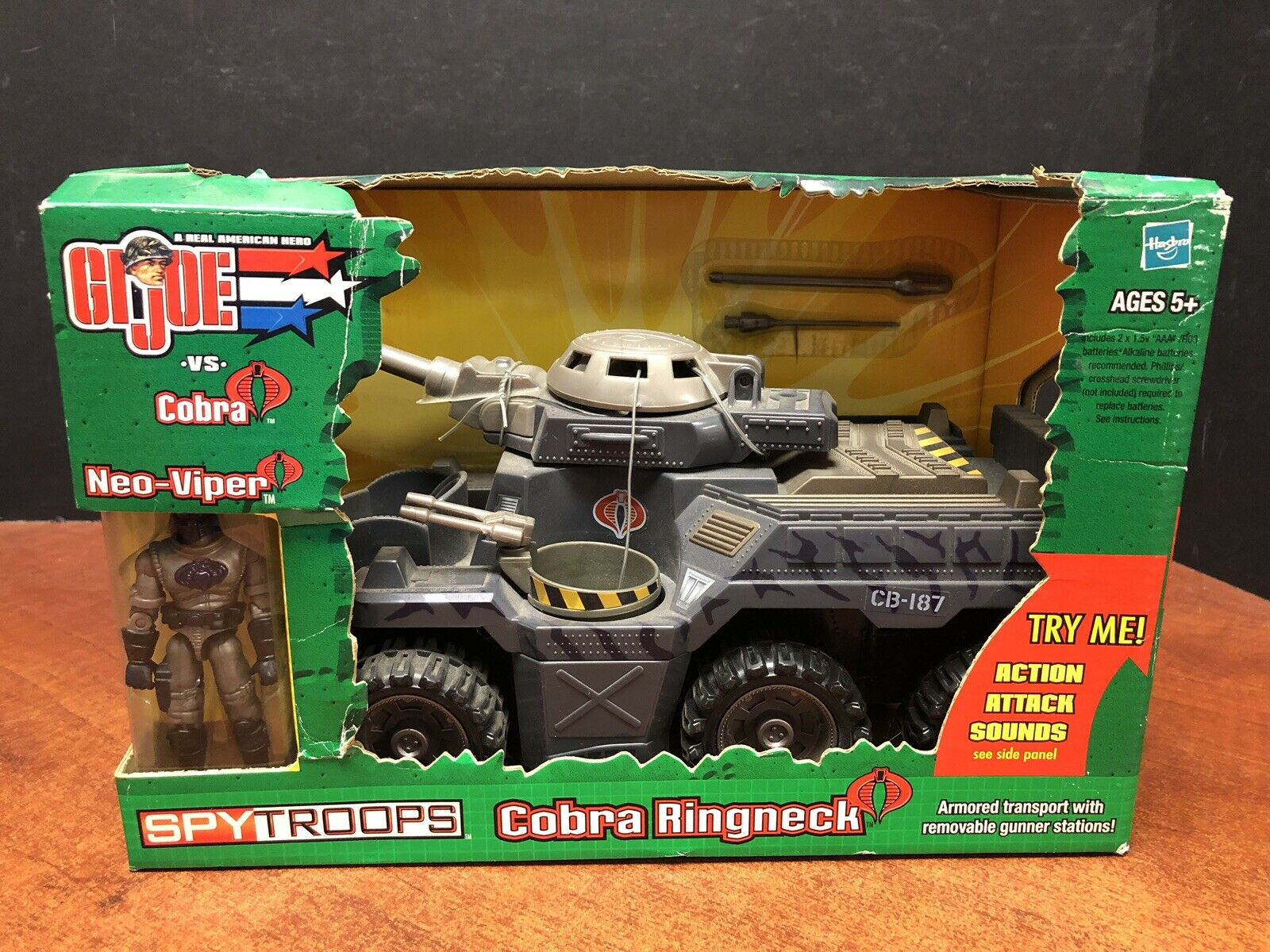 GI Joe Spy Troops Cobra Ringneck Dela1472