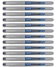 Uni-Ball Vision Eye UB-187 Needle Rollerball Pen BLUE MEDIUM 0.7mm PACK of 12