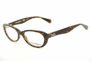 d5ae89e1653 New Authentic Dolce   Gabbana DD 1248 502 Dark Havana 51mm ...