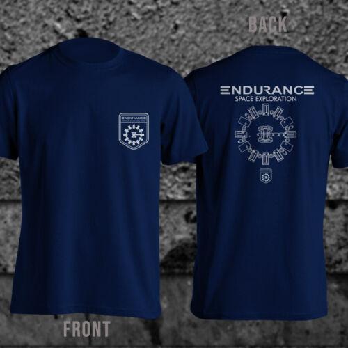 Endurance Space Exploration Interstellar Shirt Stay NASA TARS Men T-Shirt