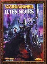 WARHAMMER ARMEES ELFES NOIRS 2003