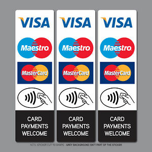 Contactless-Credit-Card-Payments-Stickers-Taxi-Shop-VISA-Mastercard-Maestro