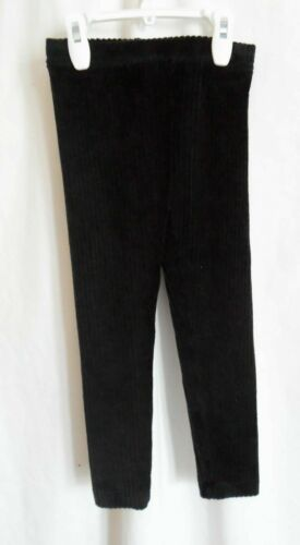 GIRLS TODDLER SOLID BLACK CORDUROY APPEA PULL ON LEGGINGS NWT ~ OLD NAVY