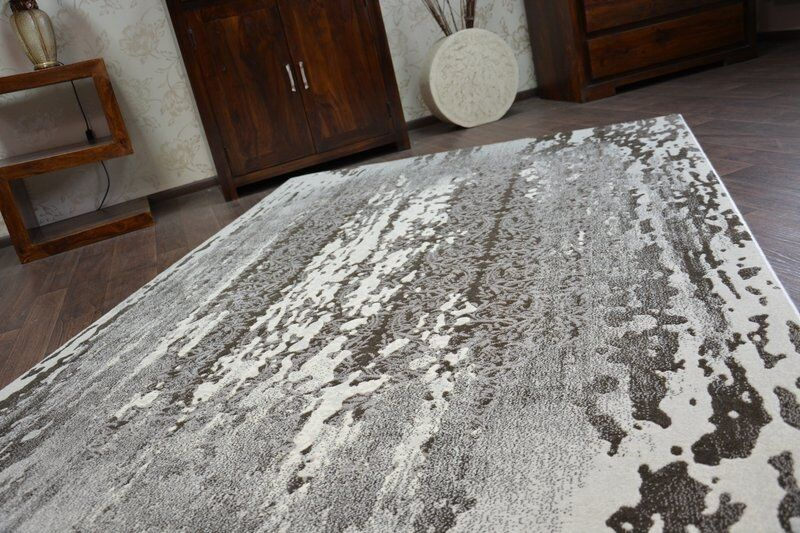 Très Très Très épais et densément tissé acrylique, tapis en laine