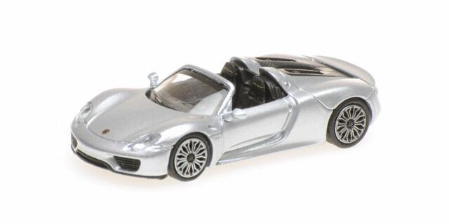 Minichamps 870062131 Porsche 718 Spyder Amarillo 2015 Ho 1:87 Nuevo