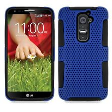 LG Optimus G2 AT&T T-Mobile Sprint Verizon Hybrid Mesh Case + Screen Protector