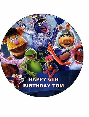 Kitchen, Dining & Bar Baking Accs. & Cake Decorating The Muppets 7.5 Glassa Edibile Compleanno Torta Topper
