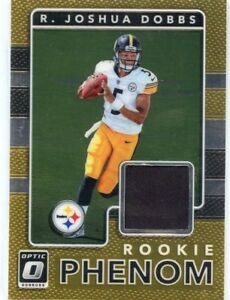 new product 30840 6a76d 2017 PANINI ROOKIE RC JERSEY STEELERS PHENOM R. JOSHUA DOBBS ...