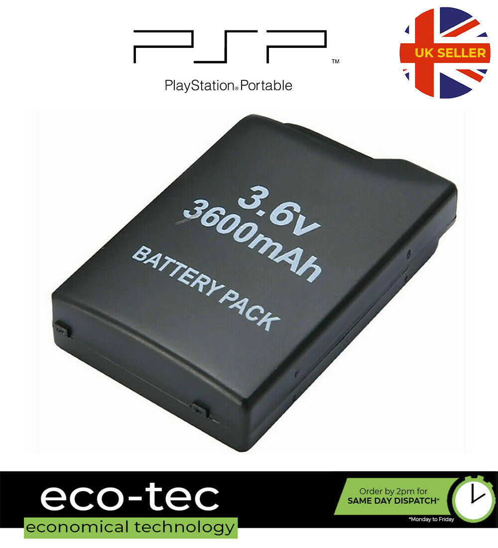 3600mAh Replacement Battery Pack For PSP 1000 1001 1002 1003 1004 1005 1006