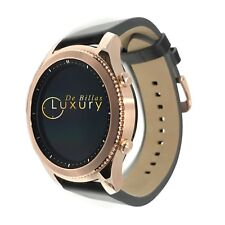 24k Rose Gold Plated Samsung Gear S3 Classic Smart Watch Custom For
