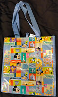 Disney Parks DWCF Disneyland Diamond 60 Anniversary Collage Tote Grocery Bag NEW