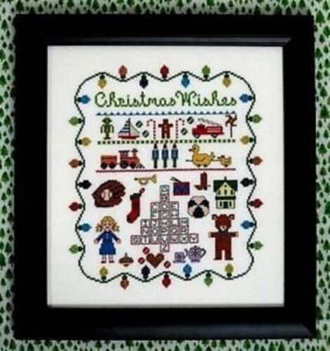 THE NEEDLE/'S NOTION CHRISTMAS WISHES CROSS STITCH