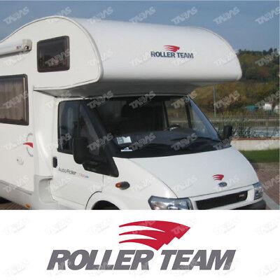 2 Adesivi per camper ROLLER TEAM adesivo camper scritte adesive caravan roulotte