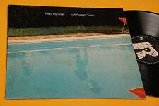 PETER HAMMILL VAN DER GRAAF G. LP IN A FOREIGN TOWN ITALY 1988 EX+