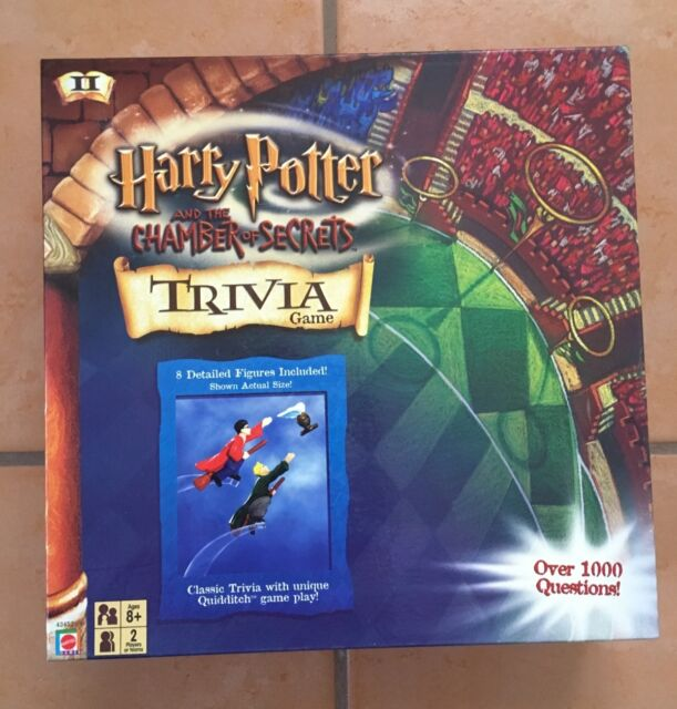 HARRY POTTER the CHAMBER OF SECRETS Trivia Board Game COMPLETE and *VERY NICE*