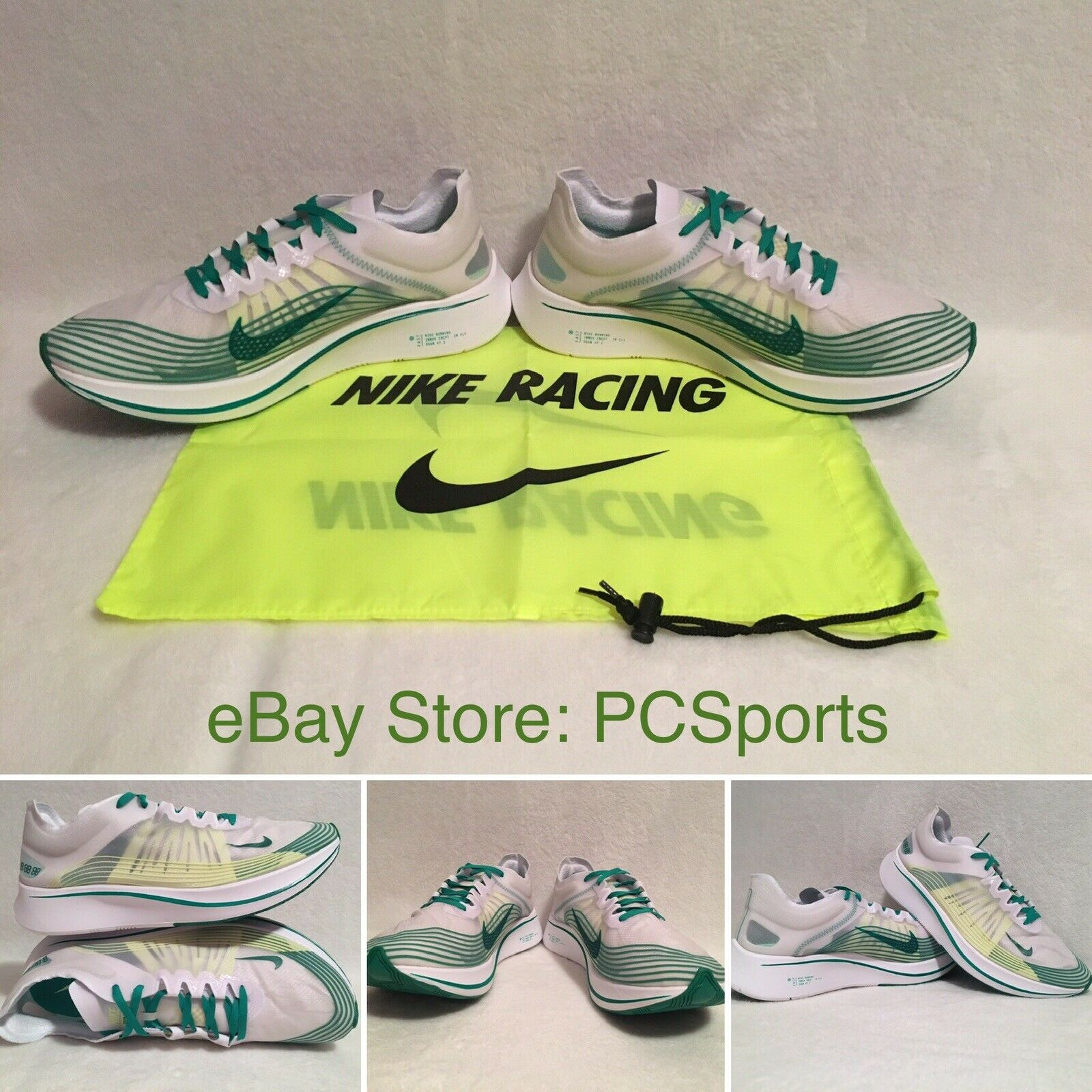 6409145b79f0 Men s Nike Zoom Fly SP Running shoes shoes shoes AJ9282-101 Size 12 b06349