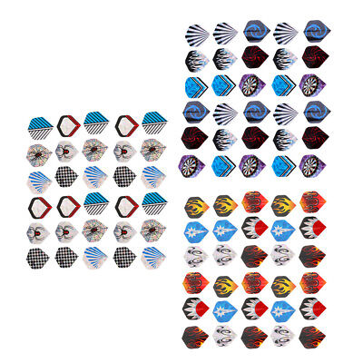 Details about  /30 Pieces Assorted Color  Flight Standard Shape Accessories Extra Strong