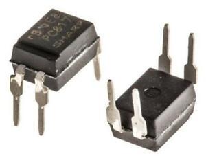 2-x-Sharp-PC817X2NSZ0F-DC-Input-Transistor-Output-Optocoupler-Through-Hole-4-Pin